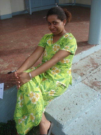 フィジアン女性
