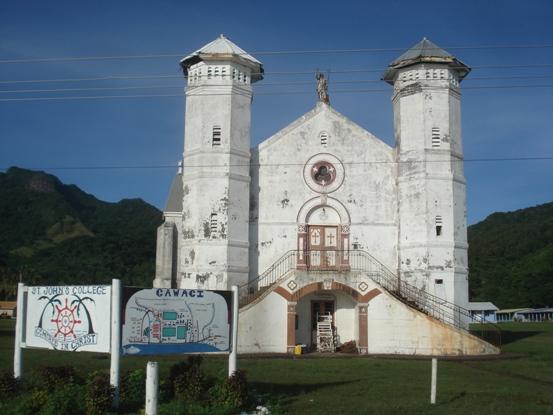百年以上前に建てられた教会